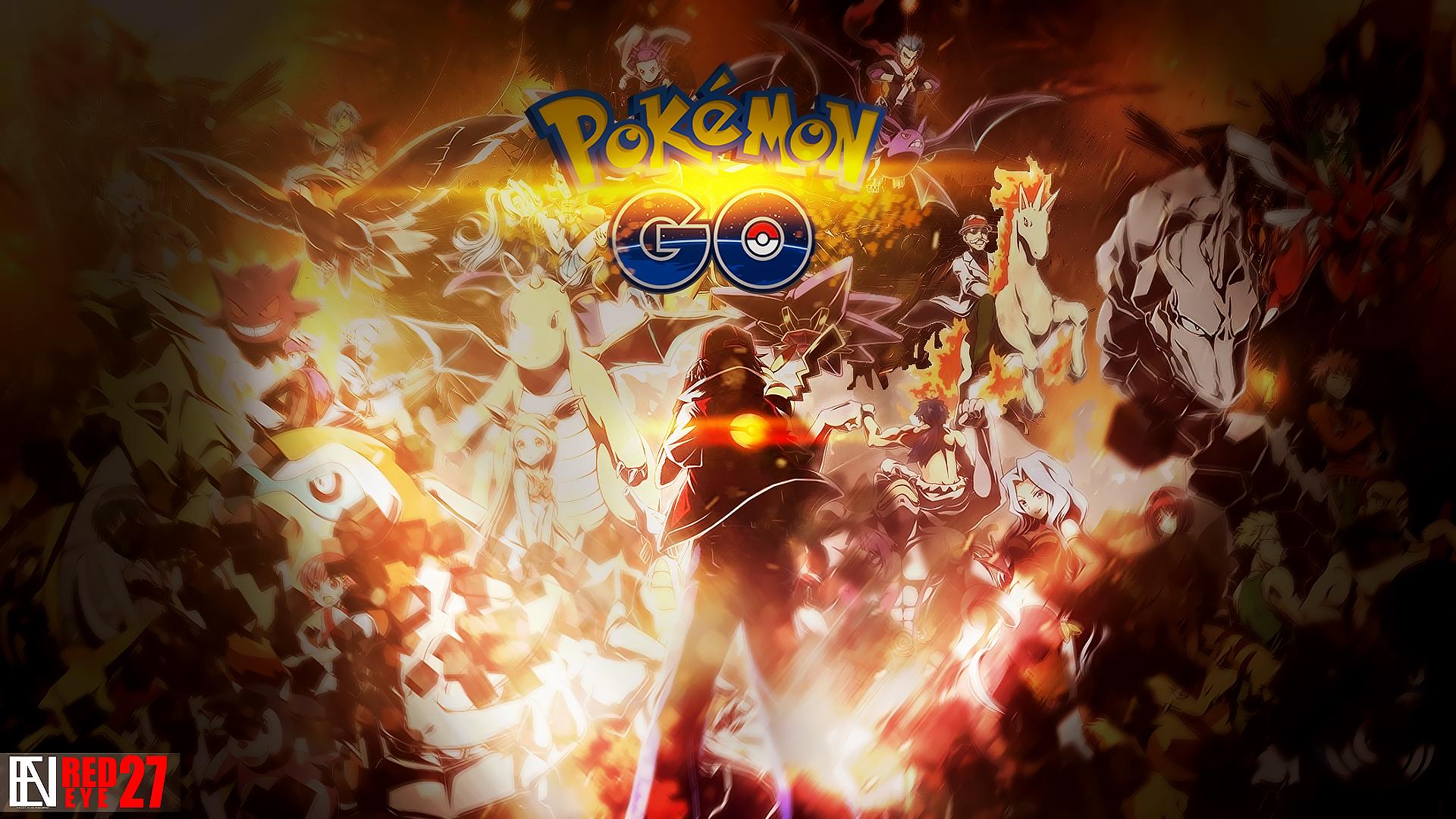Pokemon Go Wallpaper By Redeye27 On DeviantArt