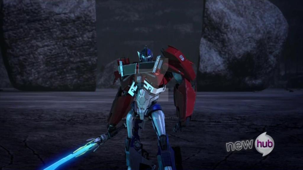 Optimus Prime con Star Saber