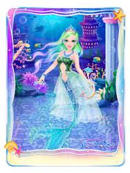 Cyber mermaid by Cyberluna1994