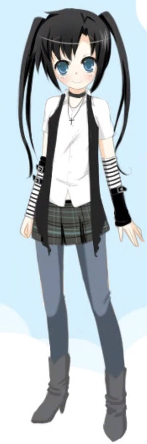 Stella/Black Rock Shooter (casual style)