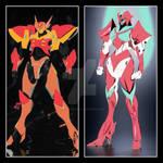 Swiftblinker e Flexeria by Cyberluna1994