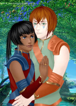 Tenchi e Akemi (adulti)