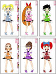 Powerpuff Girls (my version)
