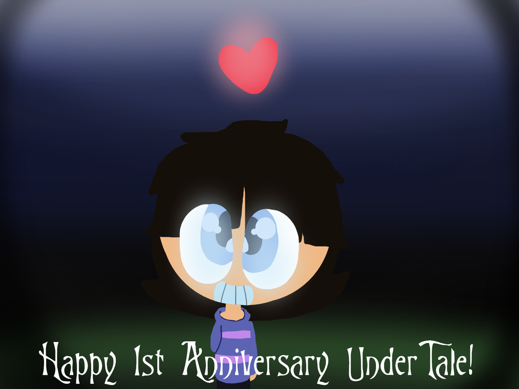 Happy 1st anniversary ut! by xxfluffywolfgirlxx on deviantart