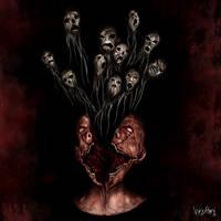 Psychosis - Mental Illness - Trauma by NyktoPaint