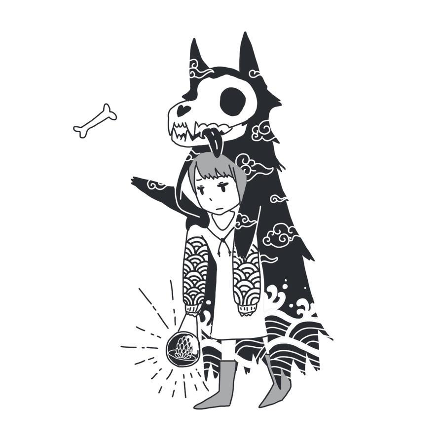 Black Riding Hood by amikuq1010