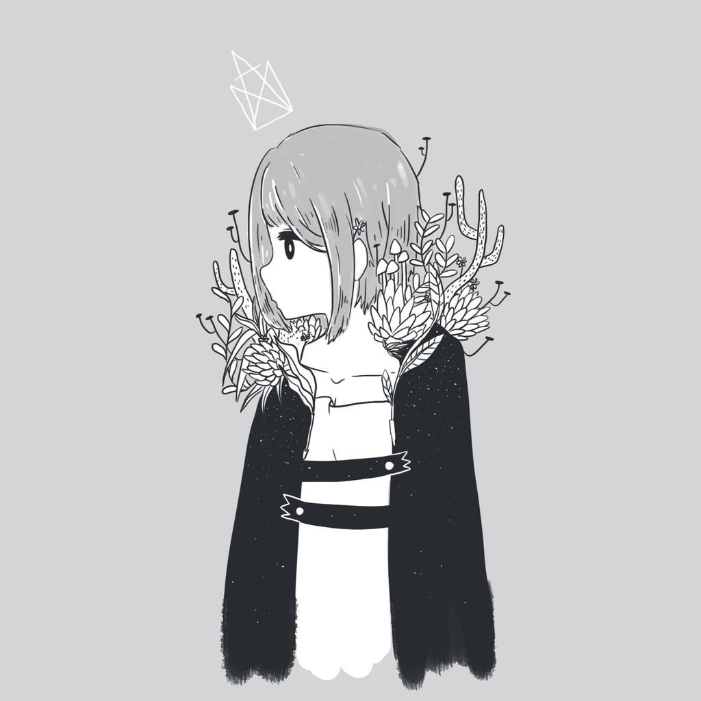 Green Coat by amikuq1010