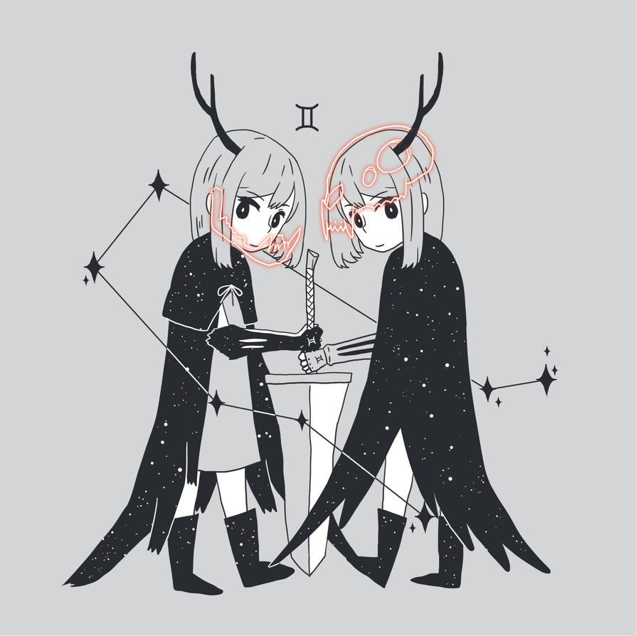 Gemini by amikuq1010