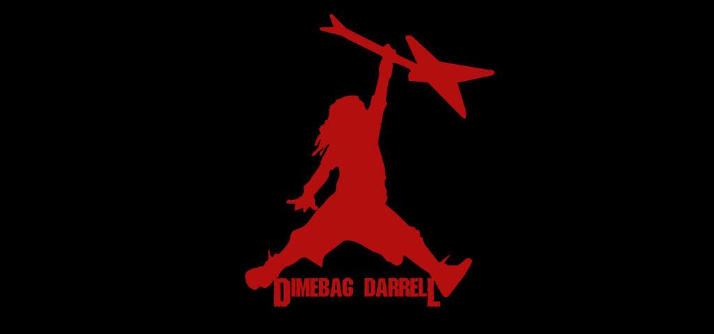 Dimebag Darrell Jordan logo by AlvCorpse