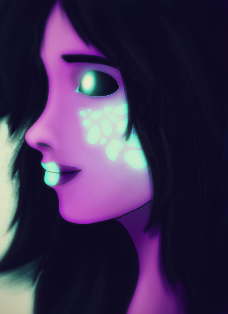 Alien Blush by MachineRule