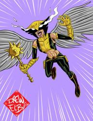 Hawkgirl by DREWELBI