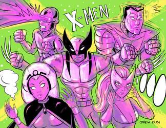 X-MEN Day by DREWELBI