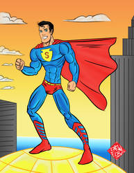 Classic Superman by DREWELBI