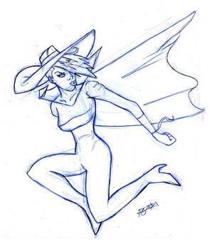 Cybersix Sketch 1 of 9
