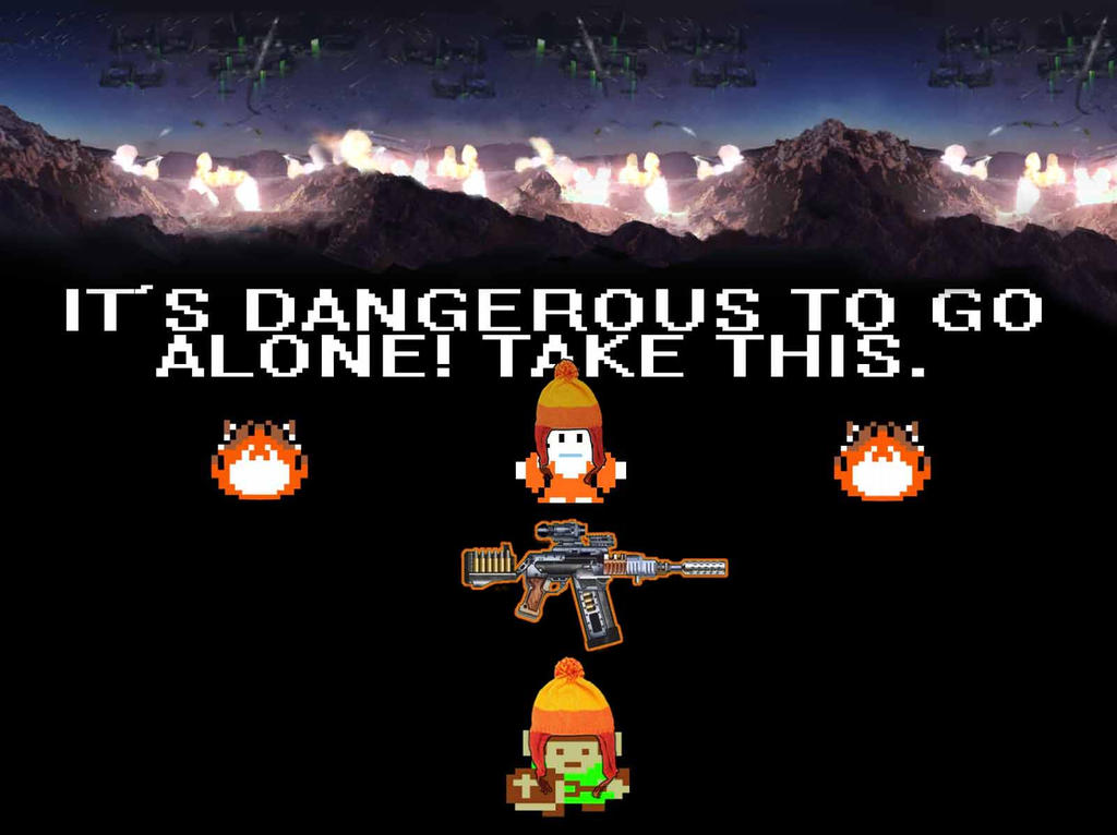 Its Dangerous in Serenity Valley take this by ThePorkchopExpress