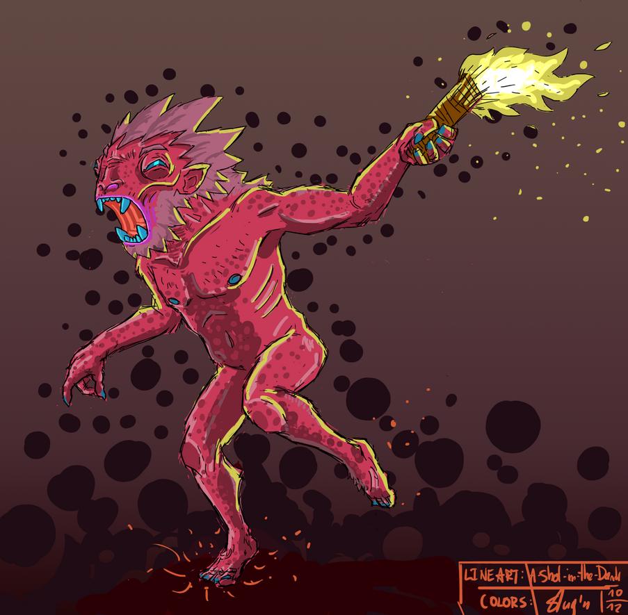 Trollboy_colaboration by Slugozaur