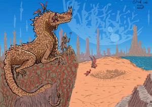 Desert Lizard_Reactivation