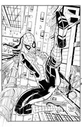 Iron Spider by Antonioagustinho