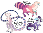 Variety Pack Adopt Sale! [CLOSED] by Salisburies