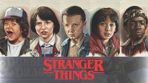 Stranger Things Wallpaper RGB 1920x1080
