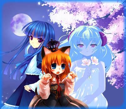 Higurashi and Umineko by AmayaHoshi