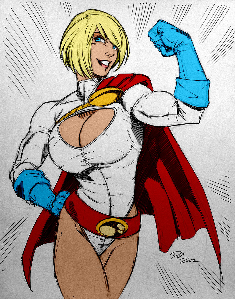Philip Moys Power Girl by Kenkira