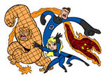 Fantastic Four Blair Style by Tombancroft