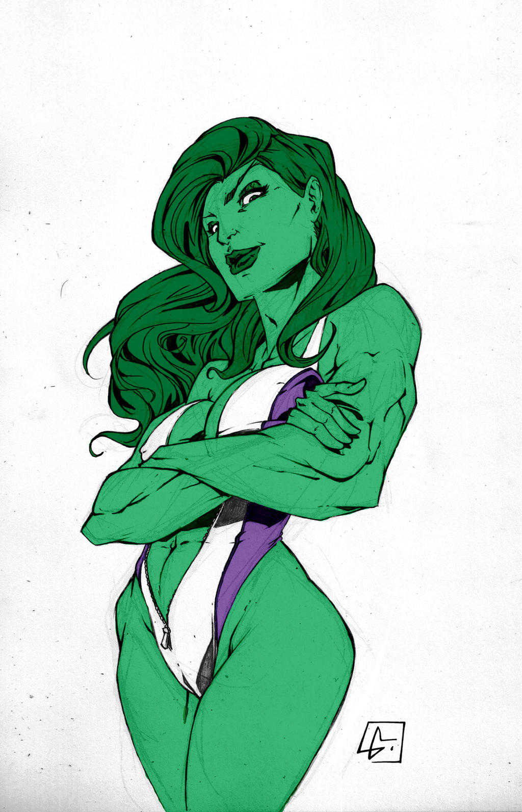 Another She Hulk By Marvelmania by Kenkira