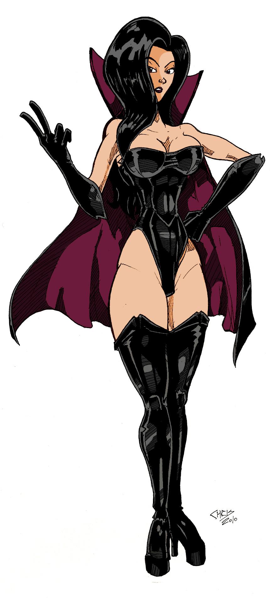 The Dark Queen By Captainvigilante by Kenkira