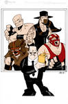 Paul Bearer And Friends By Madman1  Grant Perkins