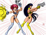 Dirty Pair Commission by powguero
