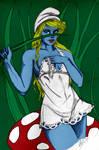 Dad 4 12 11 Smurfette By Steevinlove