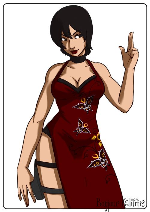 Ada Wong   Resident Evil By Kalumis by Kenkira
