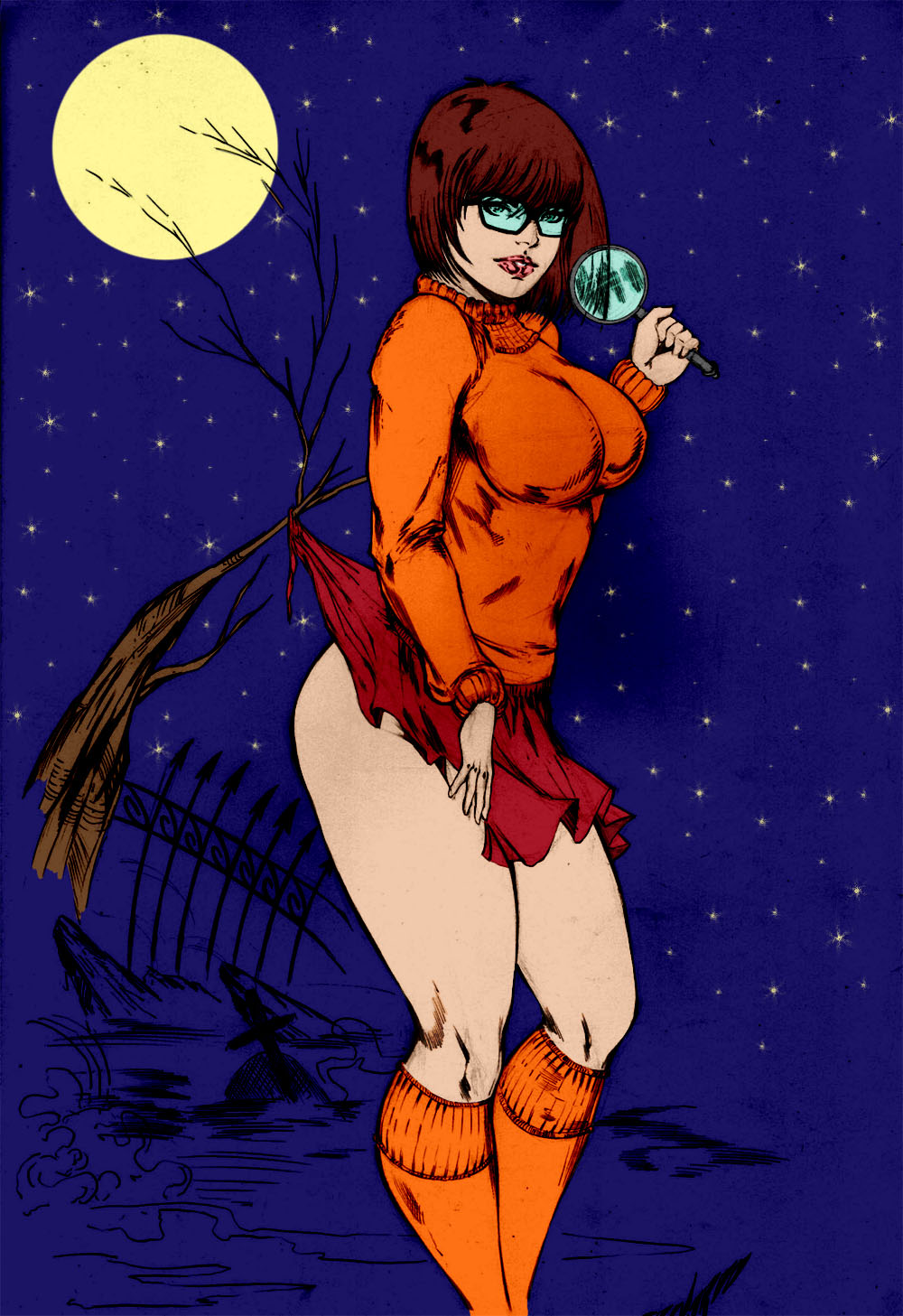 Velma and daphne hentai