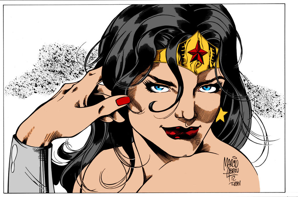 Wonder Woman By Madman1 And marcioabreu7 by Kenkira