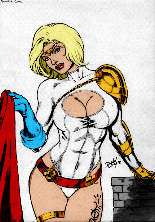 Powergirl By Dlimaart by Kenkira