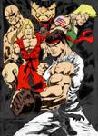 Street Fighter By Jardelcruz