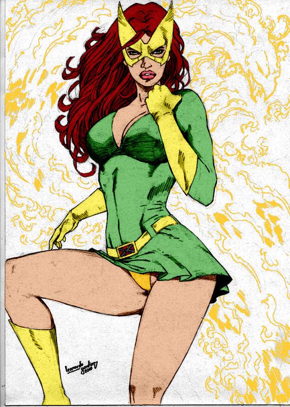 Marvel Girl By Leonartgondim by Kenkira