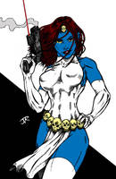 Mystique Inked By Yosarian13 by Kenkira