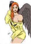 Hawkgirl By Dannith
