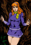 Daphne  Scooby  Doo  By Deilson