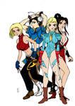 Sexy Game Ladies By Alissontorreao by Kenkira