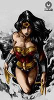Wonder Woman By Reiq by Kenkira