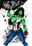 She Hulk By Dlimaart