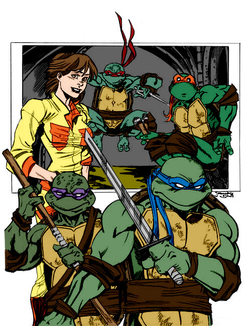 Favorites  Ninja Turtles by thejeremydale by Kenkira