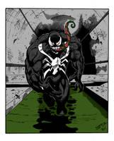Venom Crd Art By Tonykordos by Kenkira