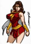 Mary Marvel by Daikon