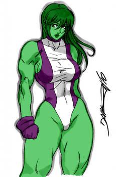 She Hulk by Daikon