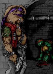 Oink Oink  Turtle     By Saintyak by Kenkira