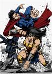 Wonder Woman Vs Superman By Marcioabreu7
